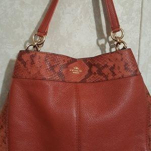 Coach Lexy/Edie bag. EUC